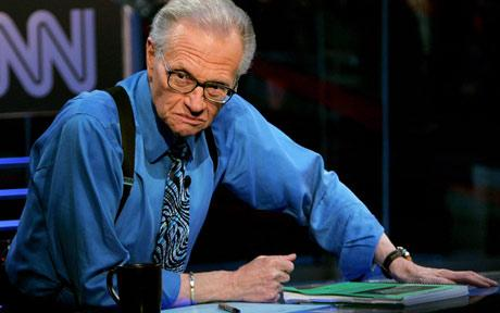 Larry King announces his retirement after 25-year gig on CNN.