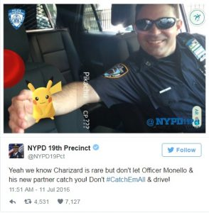Pokemon police