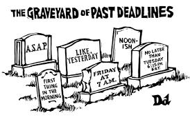 Past deadlines