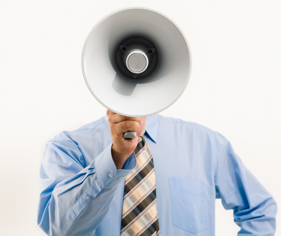 Cut through the clutter and make your voice heard